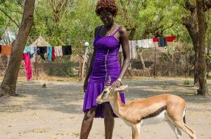 ASAH matron Daruka chilling with ASAH gazelle Chill.