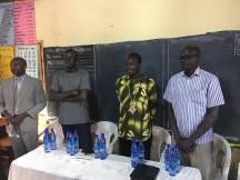 Joseph Akol Makeer, Bishop Daniel Deng Abot, Duk Elder Gabriel Kon Machot,